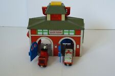 SODOR RESCUE STATION +2 Rescue Cars,Take n Play, Thomas & Friends Learning Curve