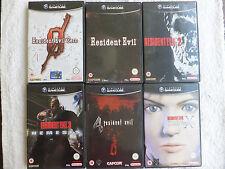 NINTENDO GIOCO CUBE-Resident Evil Set (Con Custodia & Completo) (2)