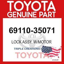 69110-35071 OEM GENUINE TOYOTA LOCK ASSY, W/MOTOR 6911035071