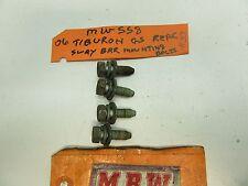 03-08 TIBURON BOLT SET REAR SWAY BAR FRAME MOUNTING BRACKET BUSHINGS BACK OEM