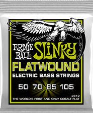 **ERNIE BALL FLATWOUND COBALT REGULAR SLINKY 50-105 ELECTRIC BASS STRINGS 2812**