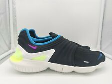Nike Free RN Flyknit 3.0 Run UK 10 Black Hyper Violet AQ5707-003