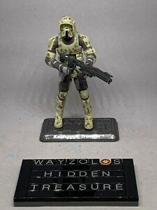 Hasbro 2008 Star Wars TAC Kashyyyk Trooper (Flip Visor) #08-04 Loose & Complete
