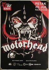 MOTORHEAD  concert poster - Exit fest 2015. / Novi Sad / Serbia... lemmy