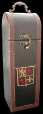Geschenkbox 2 - für 1 Flasche - Weinbox aus Holz