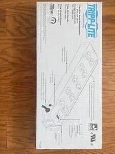 Tripp Lite TLM1015NC Power It! TLM1015NC 10 Outlets Power Strip White Heavy Duty
