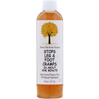 Caleb Treeze Organic Farm  Stops Leg   Foot Cramps  8 fl oz  237 ml