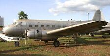 Saab 90 Scandia Civil Passenger Aircraft Mahogany Kiln Dry Wood Model Small New