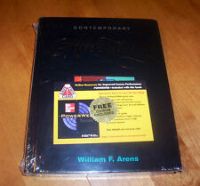 CONTEMPORARY ADVERTISING Arens Business Marketing Textbook Book CD-ROM Set NEW