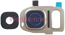 Lente Cámara S Cubierta Camera Lens Frame Original Glass Samsung Galaxy S7 Duos