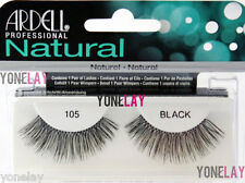 10 Pairs ARDELL Natural 105 False Eyelashes Fake Strip Eye Lashes