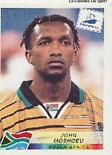N°185 JOHN MOSHOEU SOUTH AFRICA PANINI WORLD CUP 1998 STICKER VIGNETTE 98