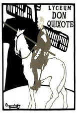 Art Deco Print LYCEUM DON QUIXOTE   French Poster