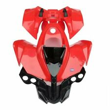 HMParts Verkleidung Plastik Set ATV Quad 125 ccm Rot
