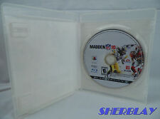 Madden NFL 10 Sony PlayStation 3 PS3  2009 Case & Game Disc Only