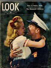 1945 LOOK October 30 - Belsen Holocaust; Hobo News; How to hold a wife; Marine