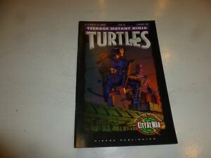 TEENAGE MUTANT NINJA TURTLES Comic - City at War - No 56 - Date 02/1993 - Mirage