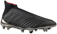Adidas Predator 18+ FG Fußballschuhe schwarz Nocken Socke CM7393 Gr. 39 & 43 NEU