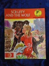 SCRUFFY AND THE WOLF A GOLD TOKEN BOOK-YOUNG WORLD PRODUCTIONS-P/B-UK POST £3.25