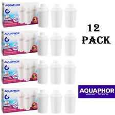 12 aquaphor filtre à eau carafe cruche cartouches de rechange classic taille nouveau