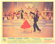 DADDY LONG LEGS ORIGINAL LOBBY CARD FRED ASTAIRE LESLIE CARON DANCE RAY ANTHONY