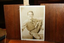 Vintage 1940's Photo Robert Bob Stack 5x7 Glossy