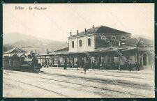 Belluno Feltre Stazione Treno cartolina QT1283