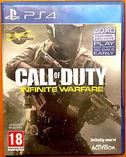 Call of Duty guerra infinita-I GIOCHI PS4-condizione molto buona-Cod