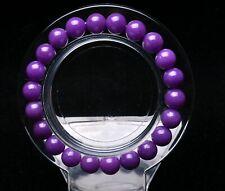 8mm Natural Phosphosiderite Purple Gemstone Round Beads Bracelet AAAA