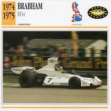 1974-1975 BRABHAM BT44 Racing Classic Car Photo/Info Maxi Card