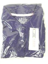 NWT IZOD Girls Approved Schoolwear Purple polo shirt top XXL Plus 20 1/2 uniform