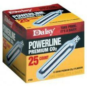 Daisy Powerline Premium CO2 Cartidges 25 Pack