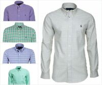 Ralph Lauren Checked Custom Fit Shirts For Men RRP 95£