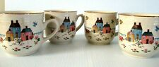 """""""INTERNATIONAL STONEWARE / COFFEE CUPS""""  ~ (LOT OF 4) ~  *** MADE IN JAPAN ***"""