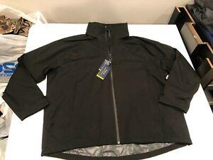 NWT $188.00 Polo Ralph Lauren Mens Performance Stretch Rain Jacket Black Sz 2XB