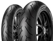 Satz 190/55ZR17+120/70ZR17 Pirelli Diablo Rosso II Vorne K-Kennung ersetzt Stand