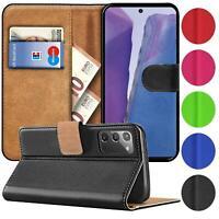 Book Case für Samsung Galaxy Note 20 Hülle Tasche Flip Cover Handy Schutz Hülle