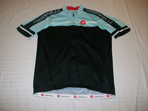 CASTELLI BICYCLE CYCLING JERSEY MENS XXL, 2XL ROAD/MOUNTAIN BIKE JERSEY NICE!