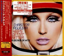 CHRISTINA AGUILERA --- KEEPS GETTIN BETTER / A DECADE OF HITS (CD+DVD) --- Japan