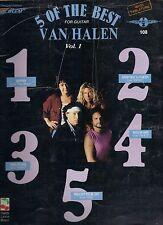 VAN HALEN  5 Of The Best  sheet music songbook