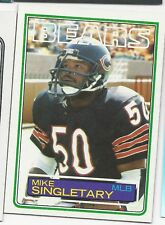 1983 Mike Singletary Topps Rookie RC Chicago BEARS Original NFL Vintage Card #38