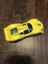 Vintage Toy Race Car 1960s Yellow #3