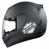 Aufkleber Reflektierend Punisher Harley HD Motorradfahrer Motorradhelm Roller
