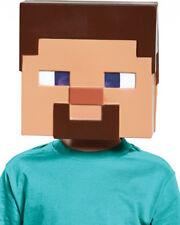 Minecraft Steve Kids Half Mask One Size