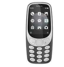 "Nokia 3310 3G Dual SIM Retro Tastatur Handy 2.4"" Display 576h Schwarz"