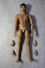 B029 1/6 HOT Custom Action Figure- Kung Fu Bruce Lee Head Sculpt with Body(TOYS)