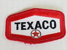 Texaco Embroidery Patch Vintage