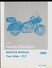 1980 Harley Davidson Flt Tour Glide Models /Service Manual / 99483-80