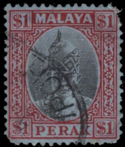"PERAK STATE 96 - Sultan Iskander ""Keyplate"" (pb34240) $25"