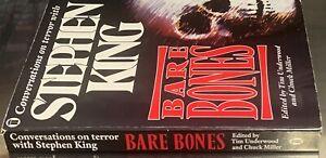 Bare Bones: Conversations on Terror with Stephen King 1990 NEL Paperback VGC